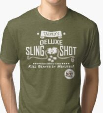 David's Slingshot Ad Tri-blend T-Shirt