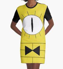 Bill Cipher Graphic T-Shirt Dress