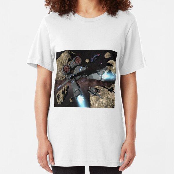 Braking Maneuver Slim Fit T-Shirt