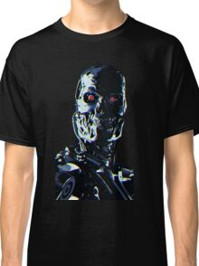 Terminator Cyborg Red Eyes Tee Shirt