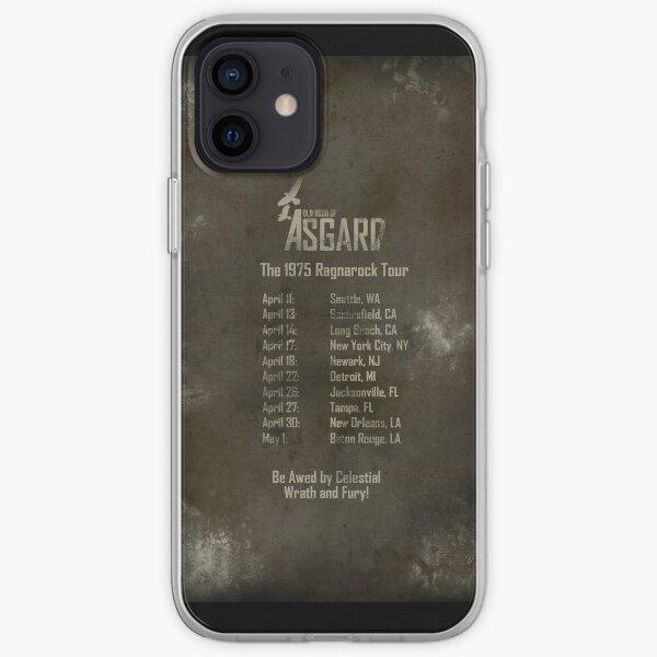 Old Gods of Asgard: Ragnarock Tour Poster iPhone Soft Case