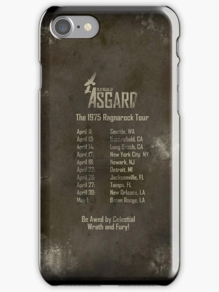 Old Gods of Asgard: Ragnarock Tour Poster by Alessandro Bricoli