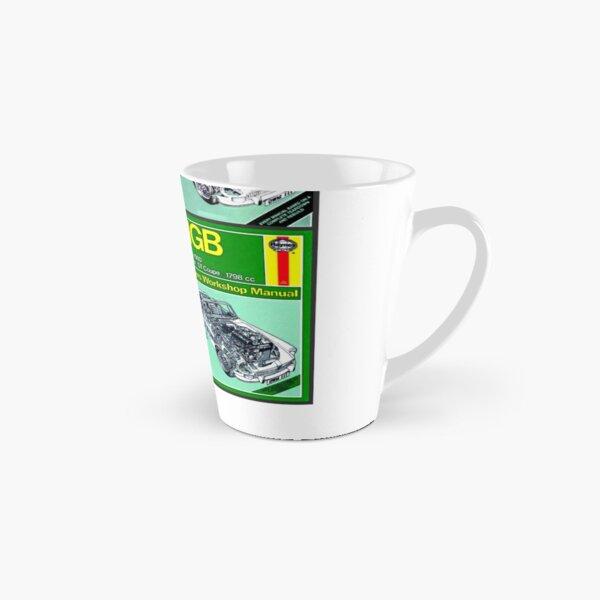 MGB Haynes manual montage Tall Mug