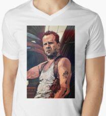 Die Hard Men's V-Neck T-Shirt