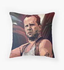 Die Hard Throw Pillow