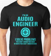 Audio engineer - I Solve Problems Unisex T-Shirt