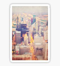 Windy City Lights Sticker