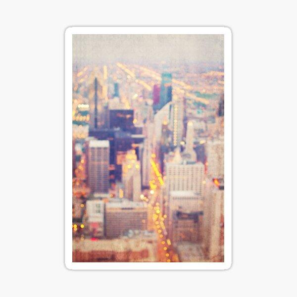 Windy City Lights Sticker