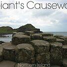 Captioned Giant's Causeway by KaytLudi
