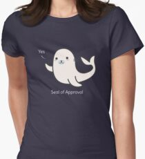 Seal Of Approval T-Shirt Women's Fitted T-Shirt
