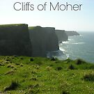 Captioned Cliffs of Moher by KaytLudi