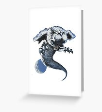 The Never Ending Story: Falcor Greeting Card