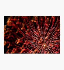 fireworks 4/10/14 Photographic Print
