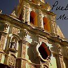 Captioned Puebla Church by KaytLudi