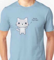 Cute and Funny Cat Pun  T-Shirt