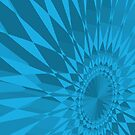 Turquoise Spirograph by destinysagent