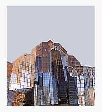 Corporate Glass Building. Photographic Print