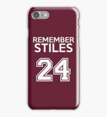 Remember Stiles - Teen Wolf iPhone Case/Skin
