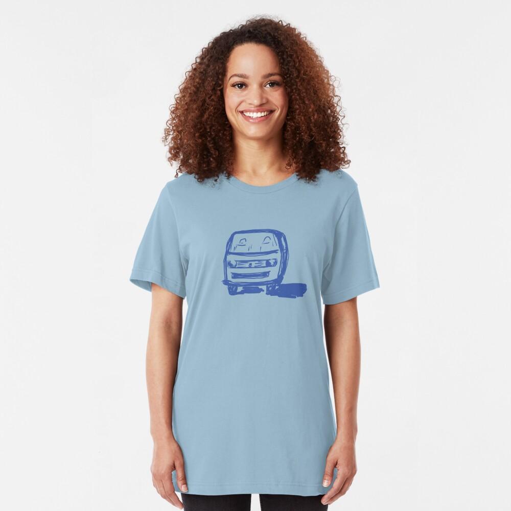 camioneta Camiseta ajustada