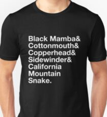 Deadly Viper Assassination Squad T-shirt (Black) T-Shirt