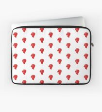 Singapore Merlion monogram on white Laptop Sleeve