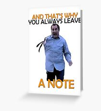 Arrested Development Quote Greeting Card