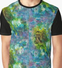 Exotic Flower Graphic T-Shirt