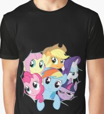 Mane Six Break Out! Graphic T-Shirt