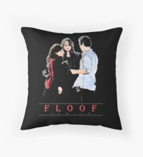 THE FLOOF FAMILY. Throw Pillow