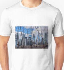 Brooklyn Bridge, New York, USA. T-Shirt