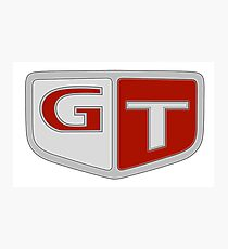NISSAN N カ ン ン (NISSAN Skyline) GT logo Photographic Print