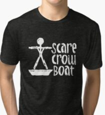 Scarecrow Boat Tri-blend T-Shirt