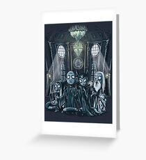 The Dark Magic Club Greeting Card