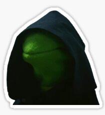 Evil Kermit Meme 2 Sticker