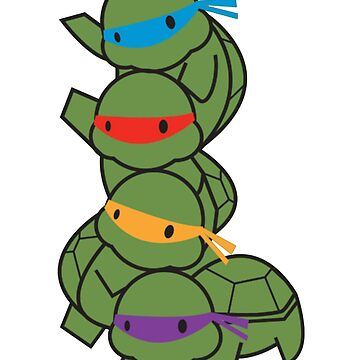 Baby Ninja Turtles by MattLa