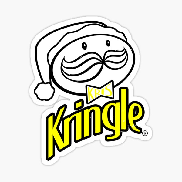 Kris Kringle Sticker
