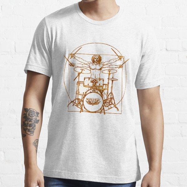 Vitruvian Drummer Man Essential T-Shirt