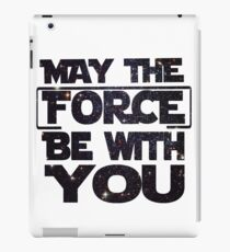 May the Force be with you - Galaxy iPad Case/Skin