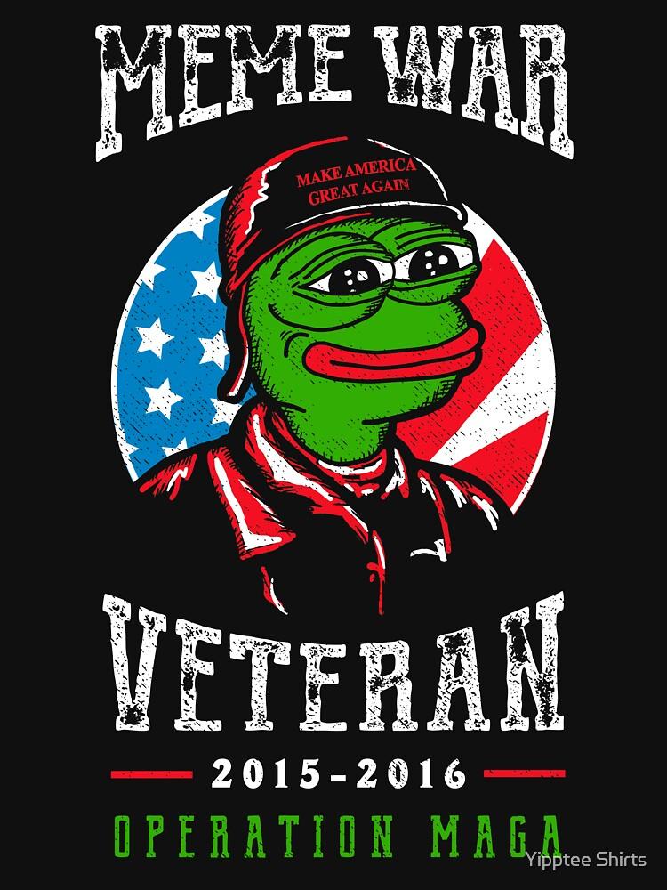 Meme Wars Veteran Unisex T Shirt A T Shirt Of Pepe Memes Donald