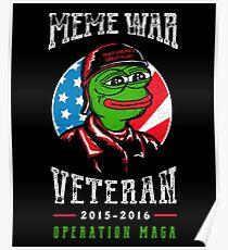 Meme Wars Veteran Poster