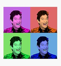 David S. Pumpkins - Any Questions? VII - Pop Art Photographic Print