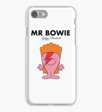 Mr Bowie iPhone Case/Skin