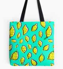 Limones de primavera Tote Bag