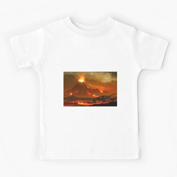 Tyrannosaurus - End of Days Version II Kids T-Shirt
