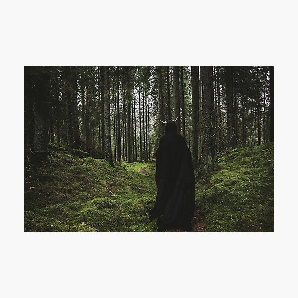 The Horned God Photographic Print