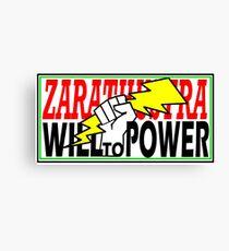 ZARATHUSTRA - WILL TO POWER - NIETZSCHE Canvas Print