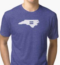 North Carolina Equality Tri-blend T-Shirt