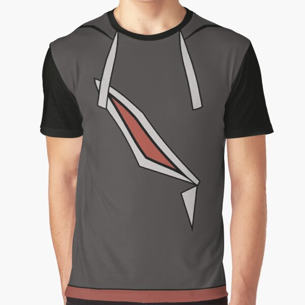 Gladion Hoodie Design - Pokemon Sun & Moon Graphic T-Shirt