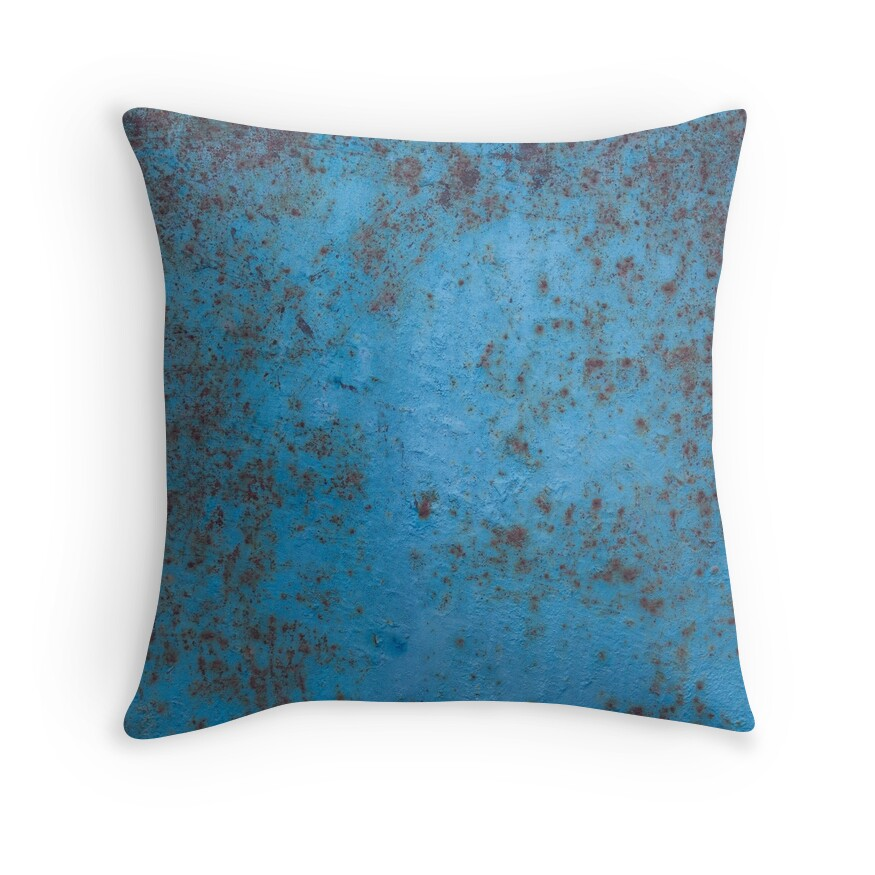 Rust Color: Throw Pillows Redbubble