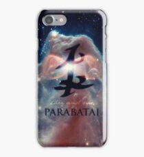The mortal instruments : Shadowhunter rune - Parabatai iPhone Case/Skin
